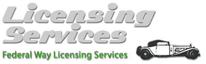 Federal Way Auto Licensing Logo