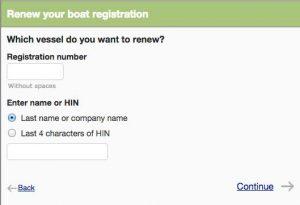Renew your boat registration